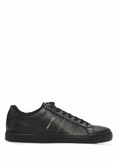 PS by Paul Smith PS Paul Smith  Dikiş Detaylı Erkek Deri Sneaker 101549302 Siyah